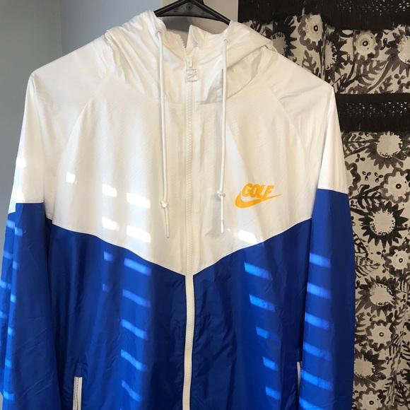 92bb1ee001b6 Men s Vintage Nike Golf Windbreaker Dri-Fit Jacket.  M 5b7211c5d8a2c72e28bc2f10